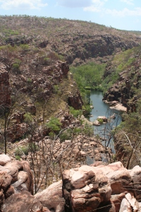 Beautiful view of Bell Gorge