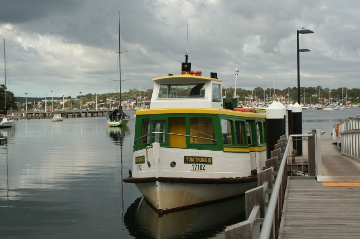 The ferry to Bundeena