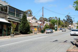 Gumeracha's main street