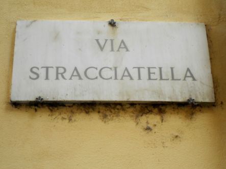 Hmmm stracciatella! Made me think of ice cream