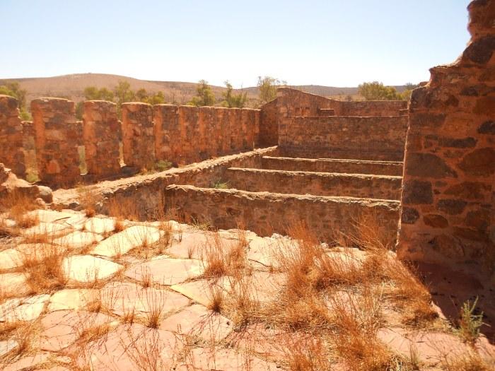 Ruins of a farm.