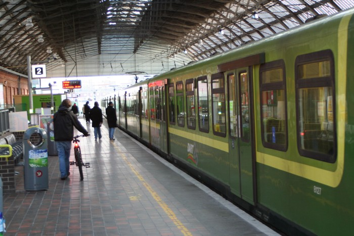 The DART to Dublin's surroundings