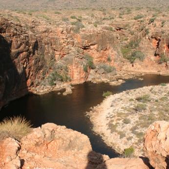 Yardie Creek from above