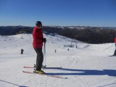 Two ski seasons in Thredbo, NSW