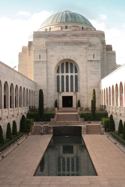 The War Memorial in Canberra