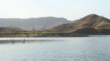 A lake panorama