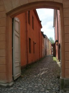An old hidden street
