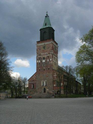 Turku's beautiful cathedral