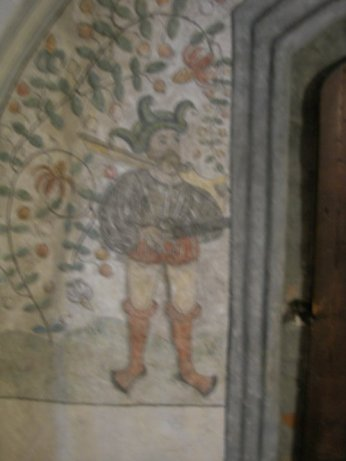 Old paintings in the castle