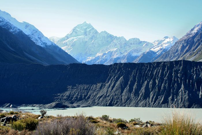 A view of Mt. Cook from Kea Point