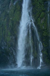 Waterfall up close