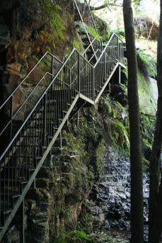 Stairs to the coalmine