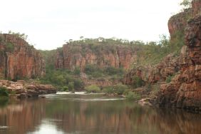 Katherine gorge from the water