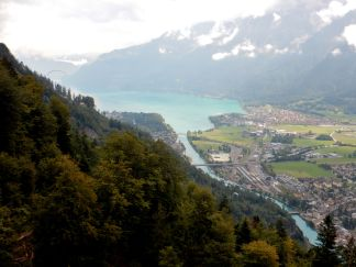 Interlaken from above
