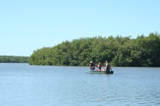 Out on the lagoon