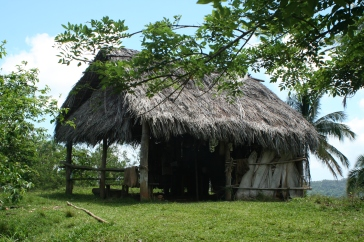 The hut of the national park officer