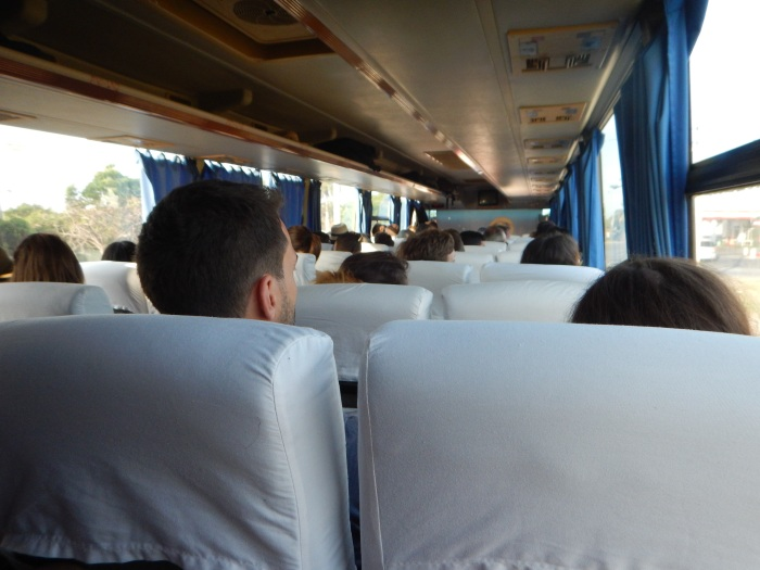 Riding on Viazul