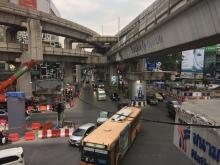 Traffic at Siam Square