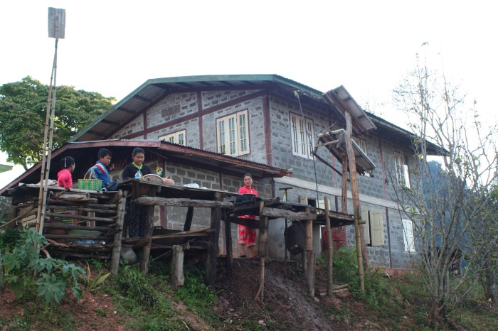 Our first homestay