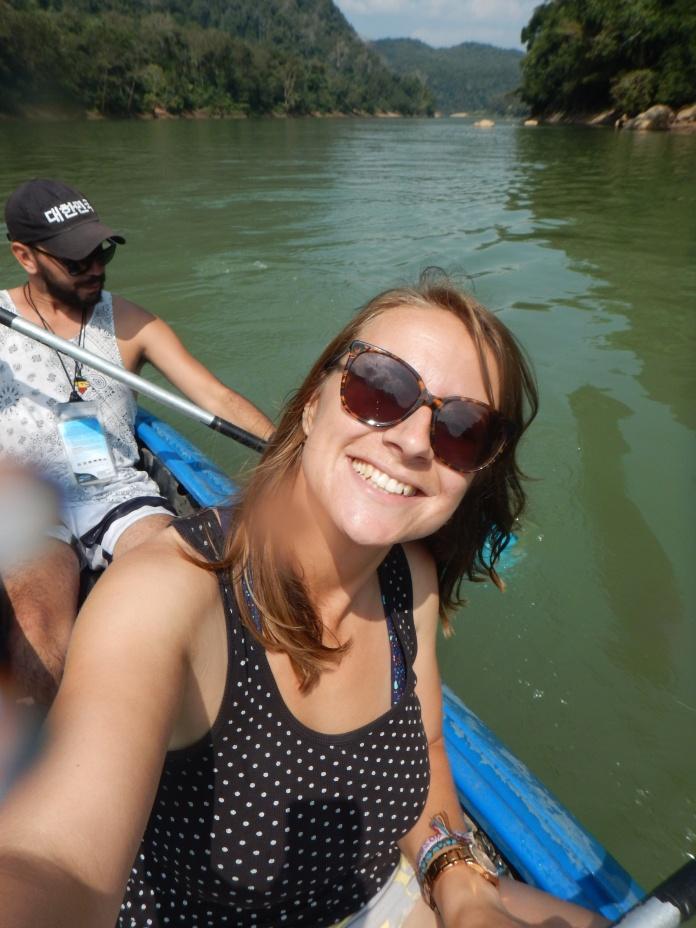 Kayaking away!