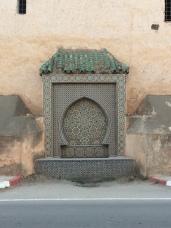 A beautiful mosaic around the royal palace