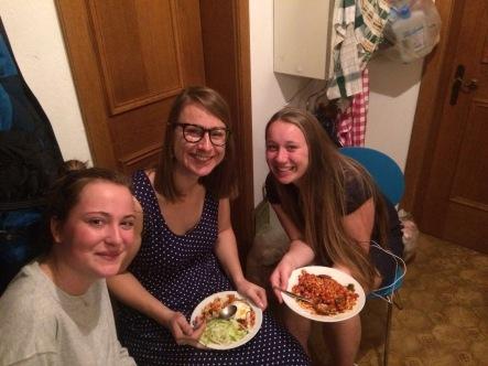 Our fancy dinner