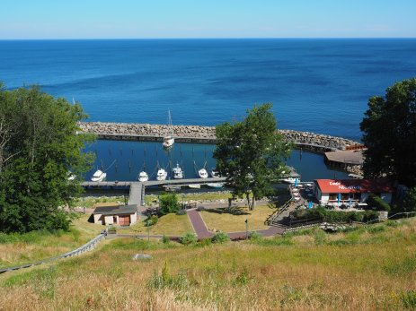 The harbour of Lohme