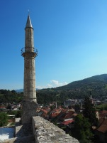 The minaret at the fortress
