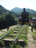 An old train, from before the tracks were changed
