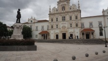 Santarem - square of the main cathedral