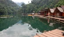 Khao Sok - camp