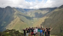 inca trail - group photo